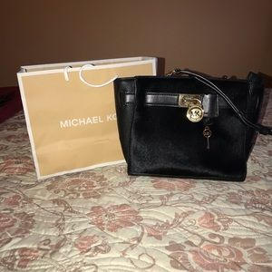 Michael Kors Hamilton Traveler calf Hair